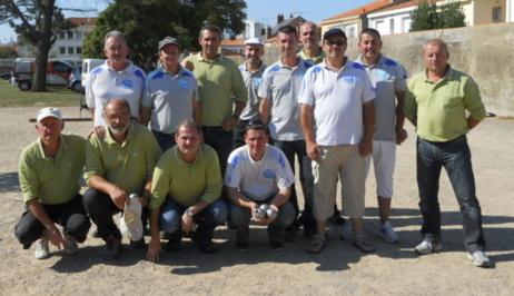GROUPE C CNC3 Châteaubriant 4ième en milieu de tableau