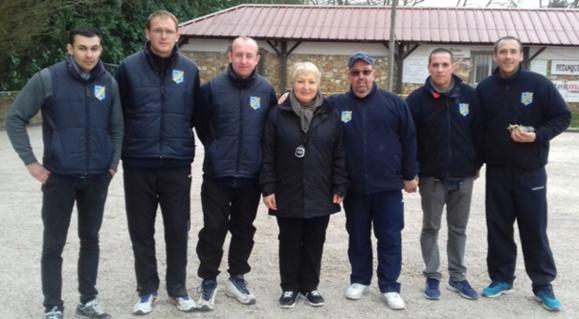 Championnat Départemental Triplettes Provençal