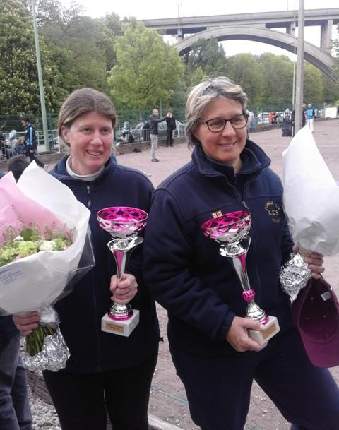 Championnat Départemental Doublettes Dames et T à T Hommes