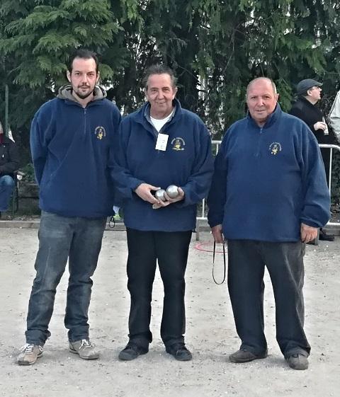 Championnat Départemental Triplettes Promotions