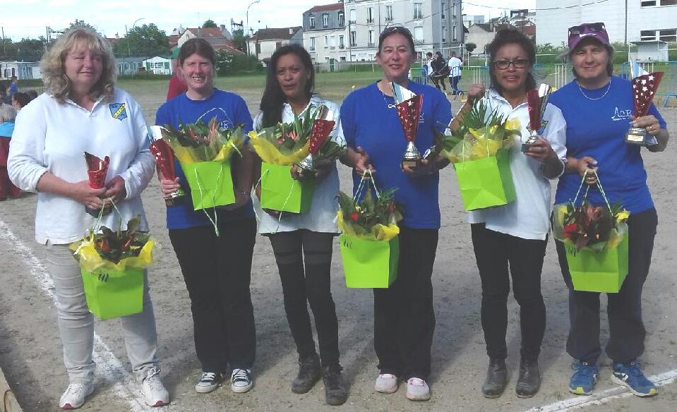 Championnats Départemental Triplettes Dames Doublettes Hommes