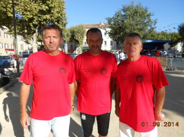 La Tour d'Aigues 2014 - Serge Gramondi, Rachid Methar, Claude Gramondi