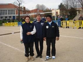 Résultat Championnat tête à tête du Val de Marne 2011