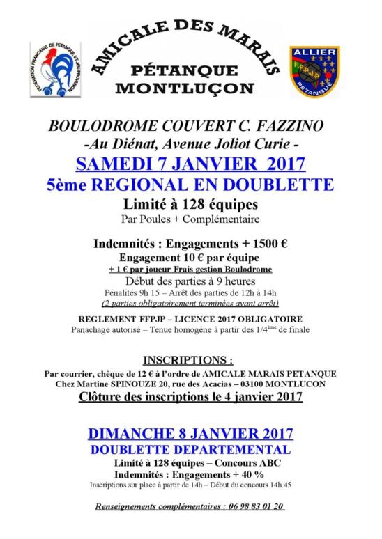 Regional Doublette 2017