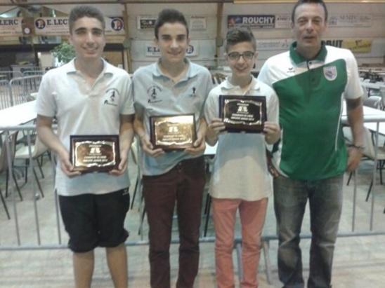 Ligue championnat mixte et Ligue jeune