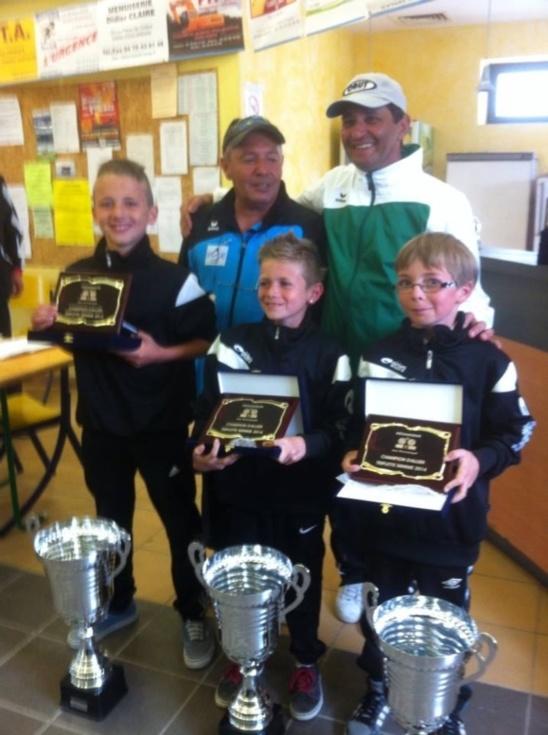 championnat mixte et jeunes