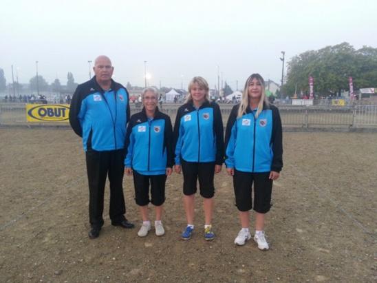 championnats de France Triplette Feminines