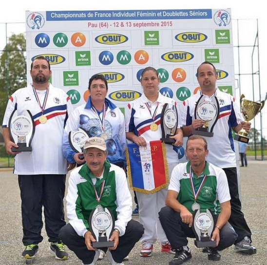Championnat de France Doublette Tat 2015