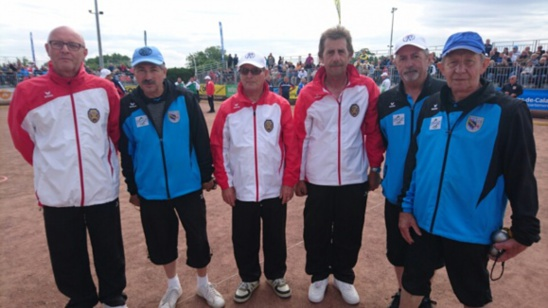 championnat triplette veteran
