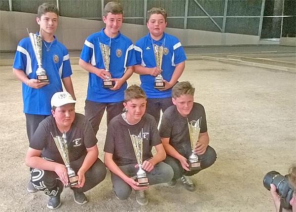 Championnat de ligue Triplettes Jeunes