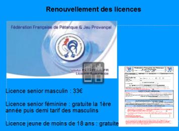 Licences 2017