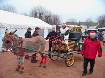 Succés dans le froid pour le Marché de Noël de Fours