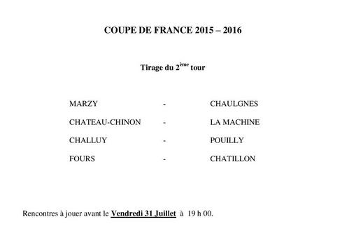 2ème tour de coupe de France
