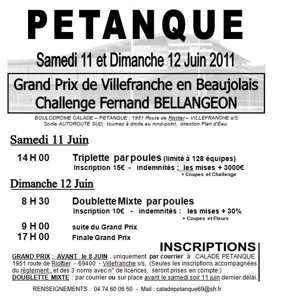 CHALLENGE FERNAND BELLANGEON