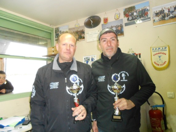 J. F Robert & N. Chapelle de SMS Vice-champions