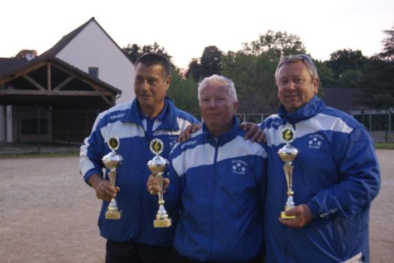 Championnat Départemental Triplette Promotion