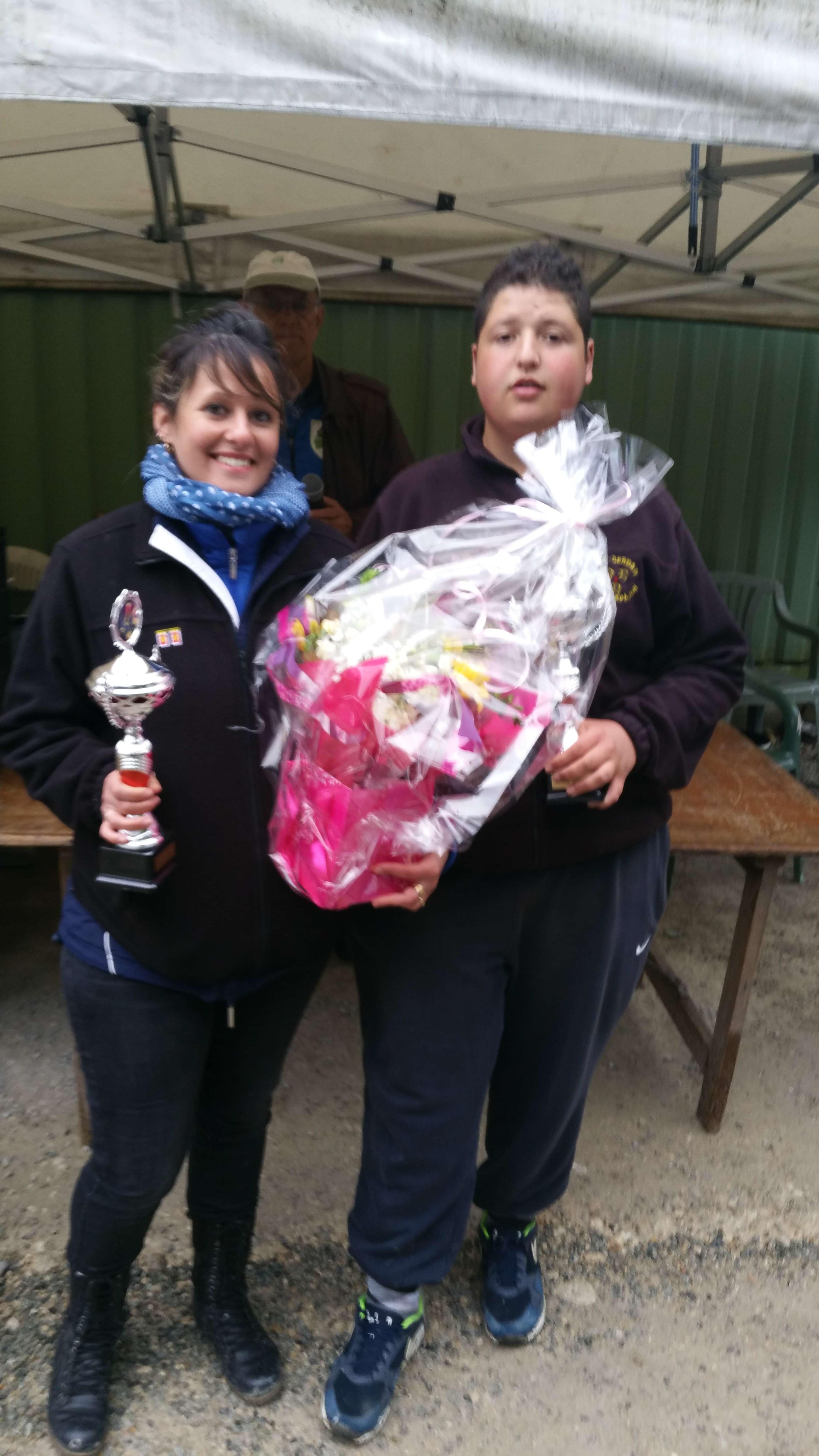 Les finalistes C. Samoye & N. Allioui du club de SGA
