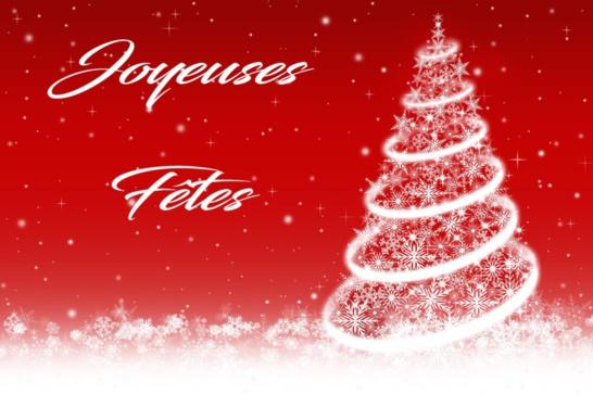 Joyeuses fêtes à tous....