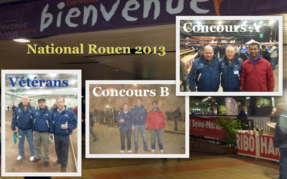 Participation National Rouen 2013