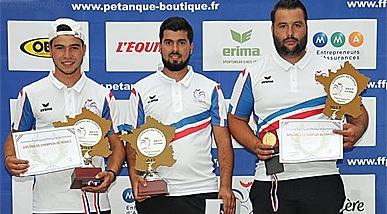 Championnat de France 2017 Triplettes Promotion les 24 au 25 juin à Ax Les Thermes (09)