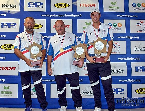 Championnat de France 2017 Triplettes Masculins les 02 & 03 septembre au Mont St Michel (50)