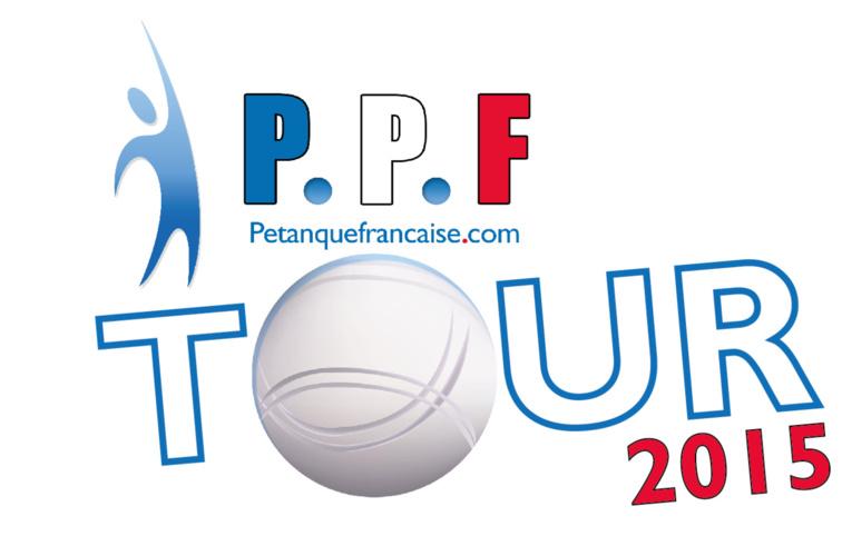 PPF Tour 2015 : Les étapes