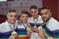 Championnats du Monde de pétanque : L'équipe de France Jeunes championne du monde