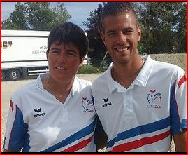 Championnat de France 2017   Doublettes Mixtes ls 22 & 23 juillet à Pontarlier (25)