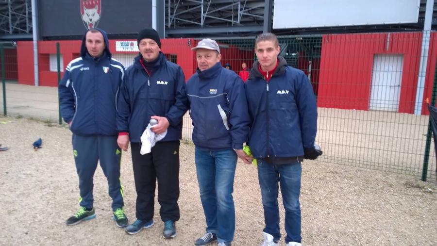 Résultats  Championnat du Rhône doublette provançal - 30 avril, 1er mai