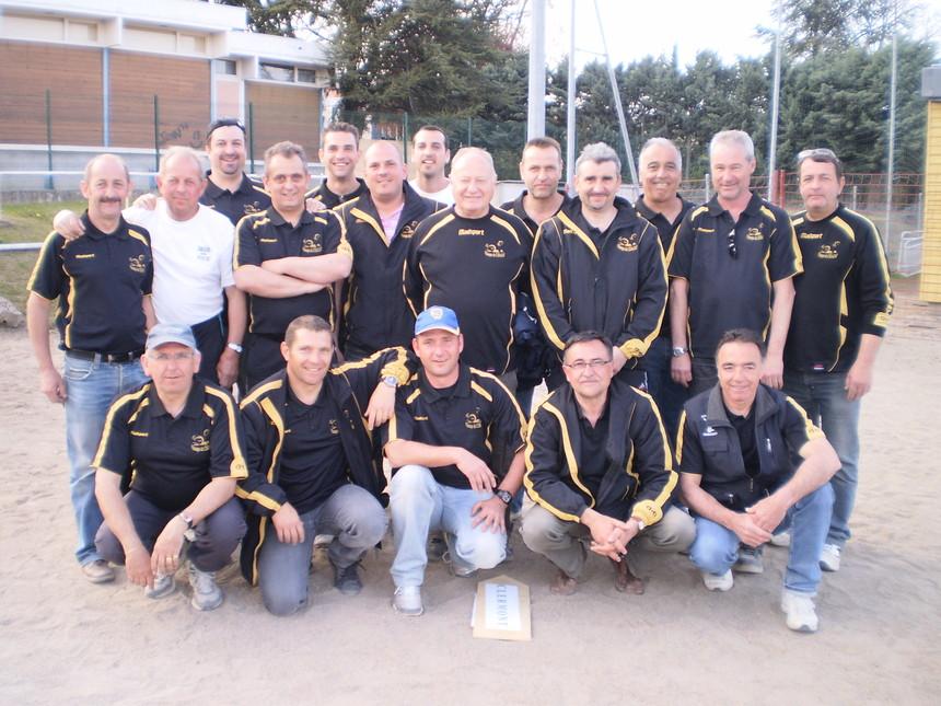 Groupe du Championnat des clubs 2010 (Régionale et Départementale) et Coupe de France