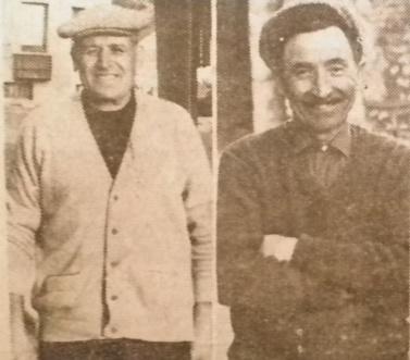 Fernand ALBARACINE (à gauche), Joseph COMBAL (à droite)
