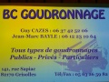 BC GOUDRONNAGE