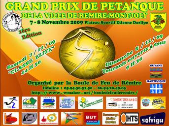 Grand Prix de Pétanque de la ville de Rémire-Montjoly