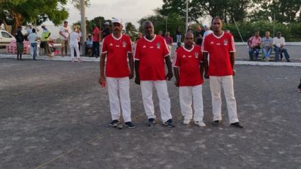 de GAD les Champions en Doublettes Laugier philippe et Ponama Edgard, les Vice-Campions Caroupanapoullé Thierry et Ramdini Bruno