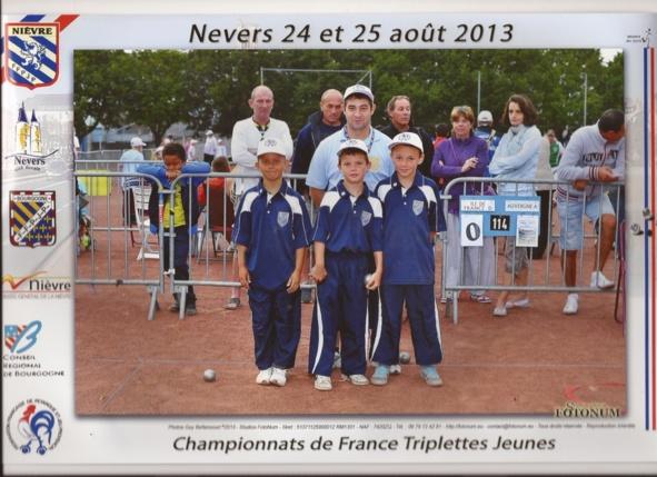 Championnat de France Minime- Nevers 2013