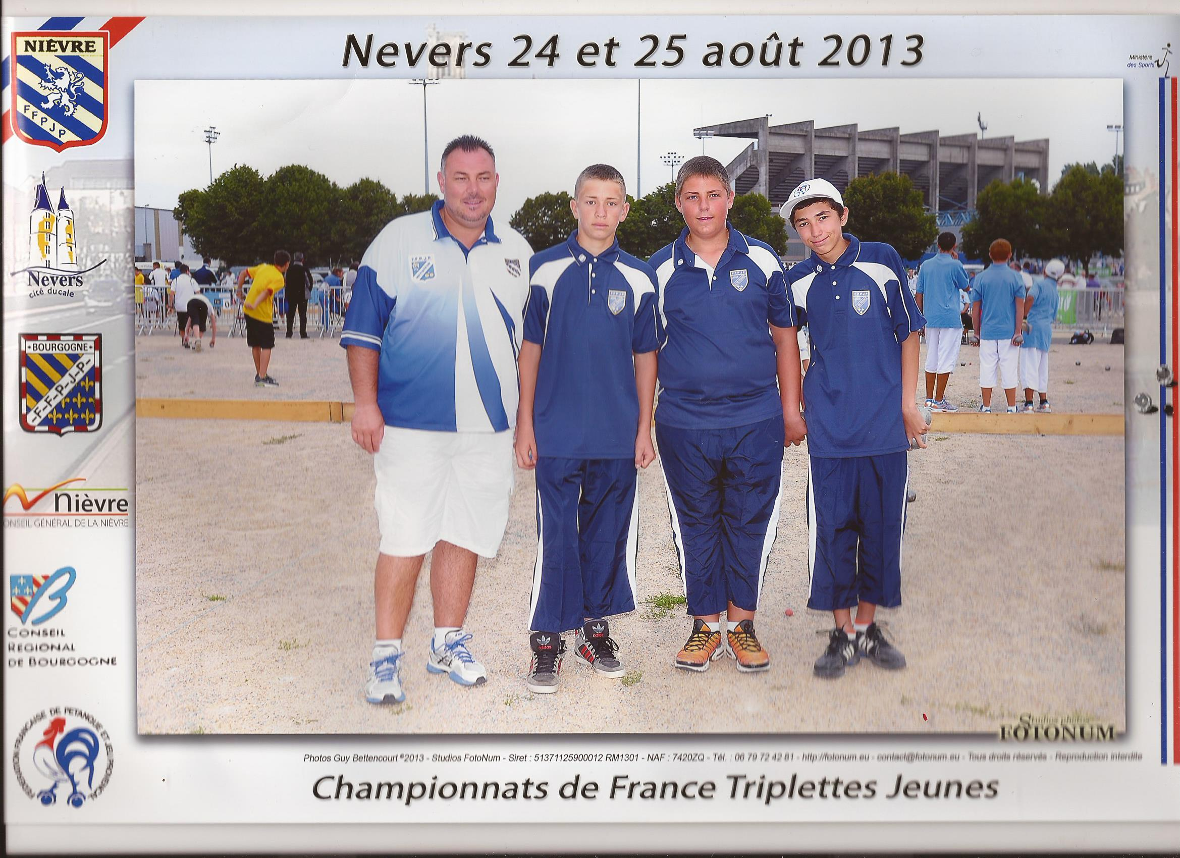 Championnat de France Cadet- Nevers 2013