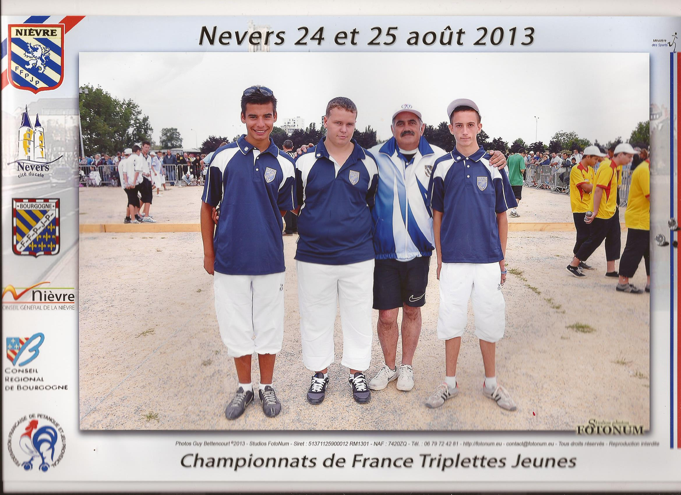 Championnat de France Junior- Nevers 2013