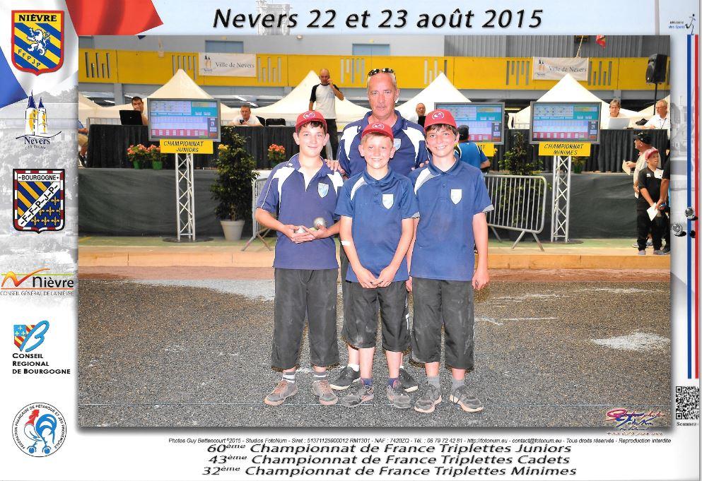 Championnat de France Jeunes 2015