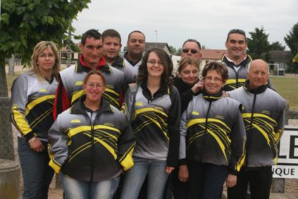 championnat d'Allier doublette mixte