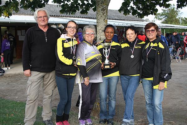 nos féminines vice-championnes d'Allier
