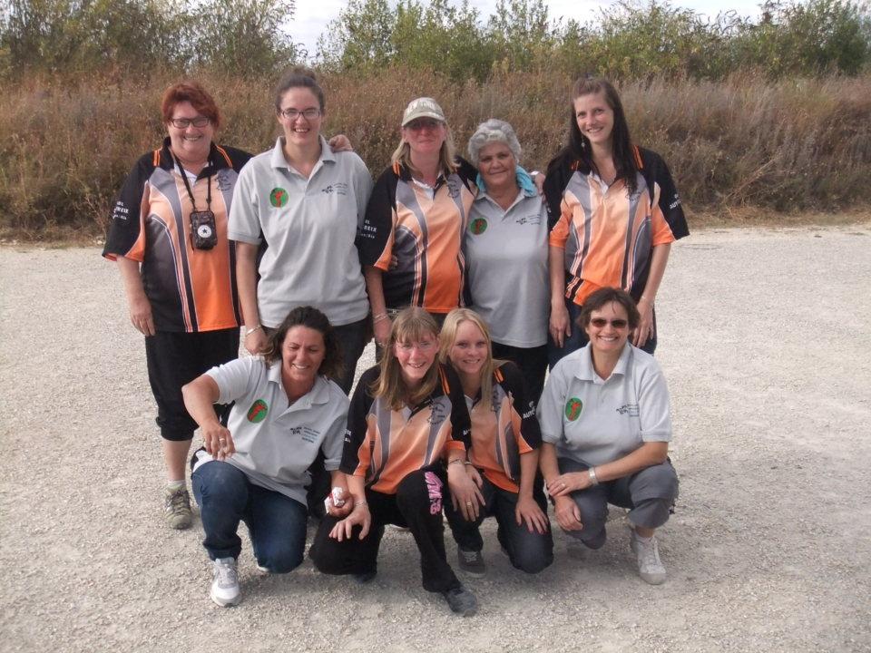 Championnat des Clubs Féminin à Esprit2 le Dimanche 02 Septembre 2012