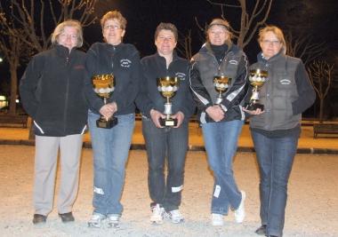 Championnat Doublette Féminin à L'isle d'abeau