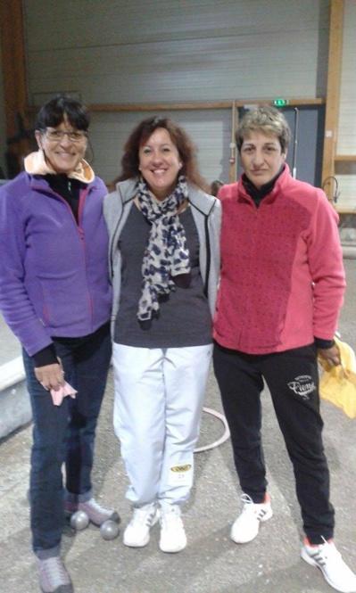Marathon triplette féminin à Nyons