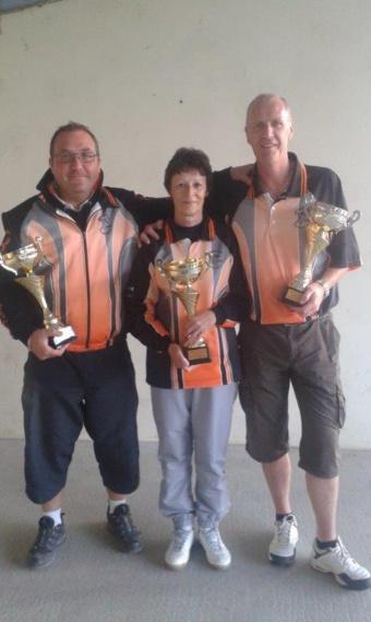 Championnat triplette mixte 2016