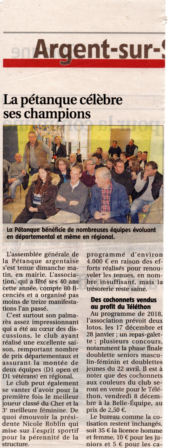 Article AG 2017
