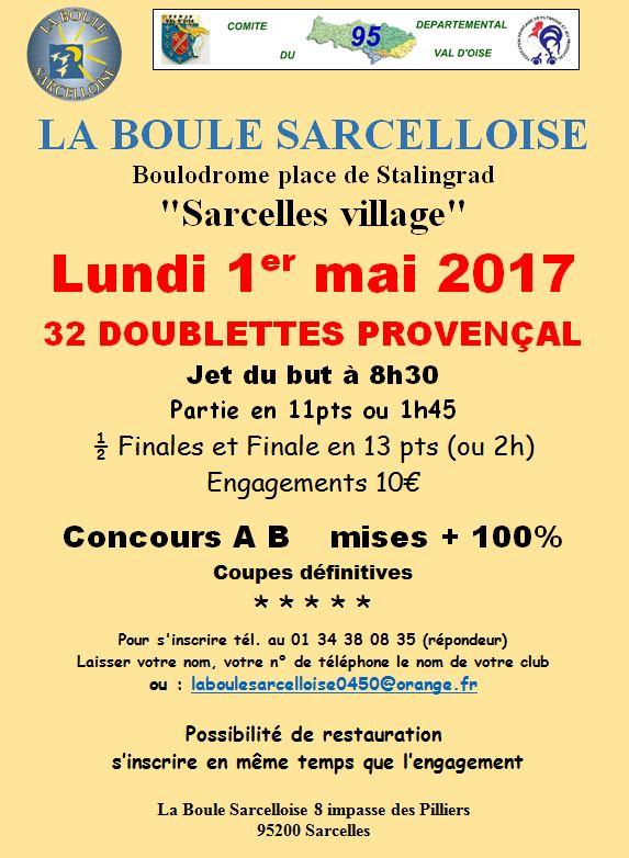 Concours DOU Jeu Provençal à SARCELLES (95)