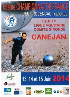 Championnat de France Jeu Provençal Triplettes