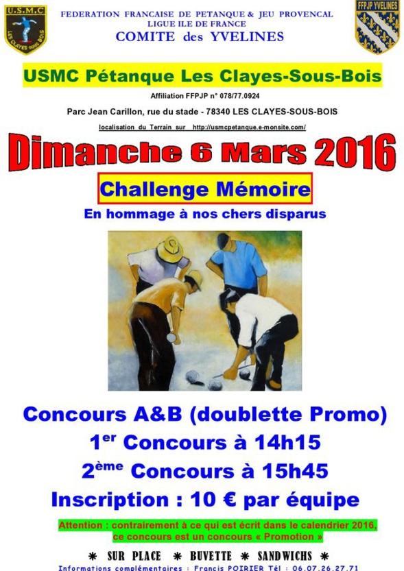 Ophtalmologue Les Clayes Sous Bois - PETANQUE CD78