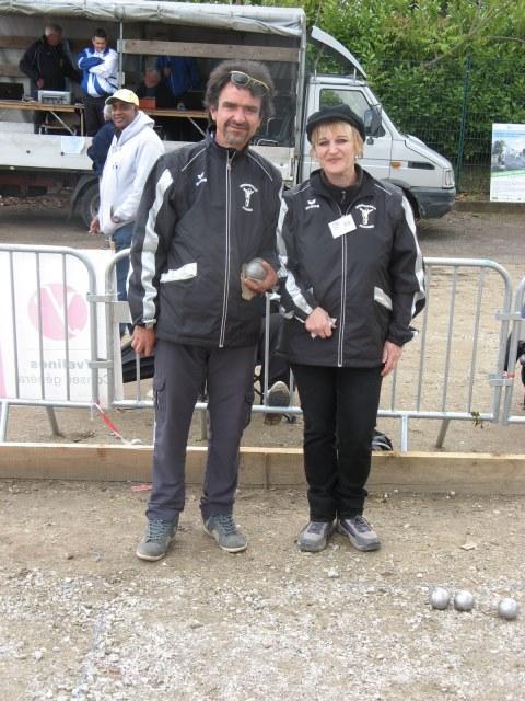 Championnat Départemental Doublettes mixtes 2014