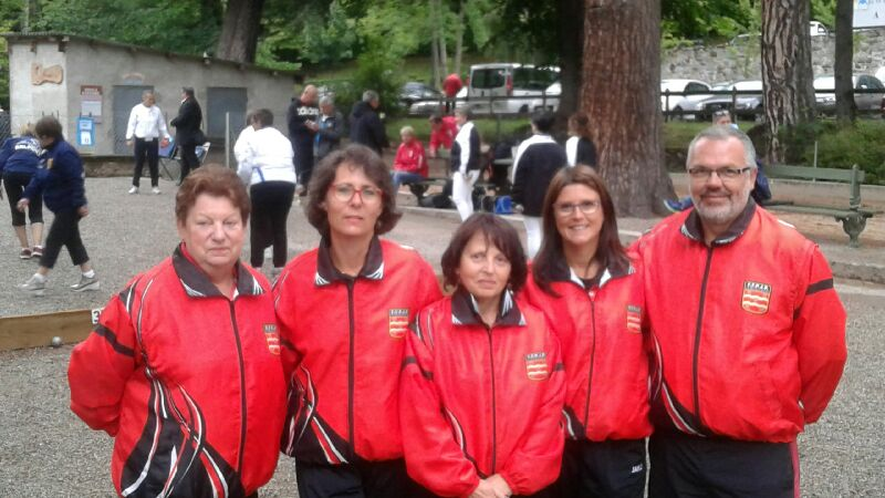 Championnat de France Triplette féminin